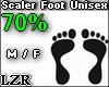 Scaler Foot Unisex 70%