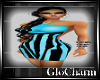 Glo* Kati Dress~BabyBlue