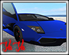 Blue Lambo Trigs Custom