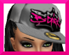 !S!BGIRL $ CAP PNKGRAY