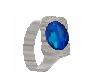 Blue Diamond Thumb Ring