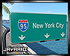 NYC Highway Sign