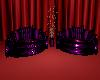 Purple&Black Duo Chiars