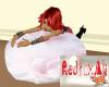 5 Pose Pink Rose Beanbag