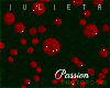 J! Red roses wall