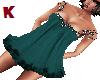 K. BadyDoll Dress Green