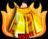 Gold Fire Sk Skirt v1