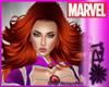 ! Starfire Comic Hair