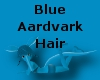 Blue Aardvark Hair