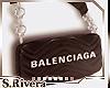 SR* Blk Balenciaga bag