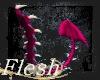 Demon pink tail