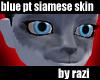 Blue Point Siamese Skin
