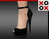 Black Fashion Heels