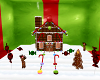 Candy Gift House Xmas