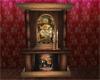 Mucha fireplace