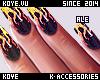 |< Ale! ON FIRE!