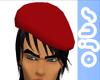 [ojbs] Red - Beret