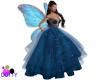 Blue sparkle ballgown