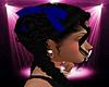 -S- Blue Hair Ribbons