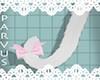 par - Cat tail white -