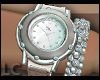 LC Silver Diamond Watch