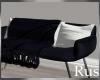 Rus Navy Sleek Couch