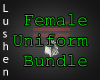 Female Uniform Bundle