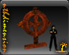 Steampunk Metal Cross V2