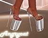 Diamond Plastic Heels