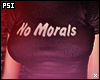 No Morals Crop Top