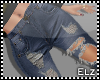*E* Blue Ripped Jeans RL