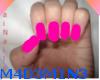 Pink Long Nails l A