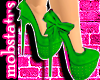 [MJ] Lime Letto Heels