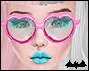 KIKI|PinkHeartGlasses