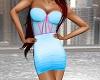 Kelly Dress - So SU Blue