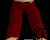 *KR-Mens drk Red pants
