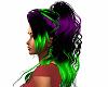 {FU} Green Purple Black