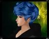 [P] blue hair