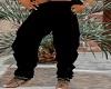 black baggy pants