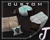 Jos~ Navius Pillow Seats