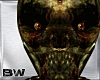 Zombie Skull Head