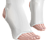 B! white pvc socks male