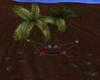 Palm Tree Swing Bed