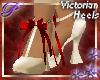 ~P~Victorian Heels-Berry