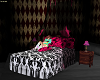 .rx. Pink Scene Star bed