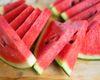 Sliced Fresh Watermelon