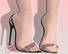Black love shoe