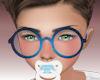 Kids blue glasses