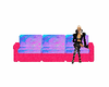 cotton candy couch