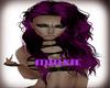 Purple Hair curly